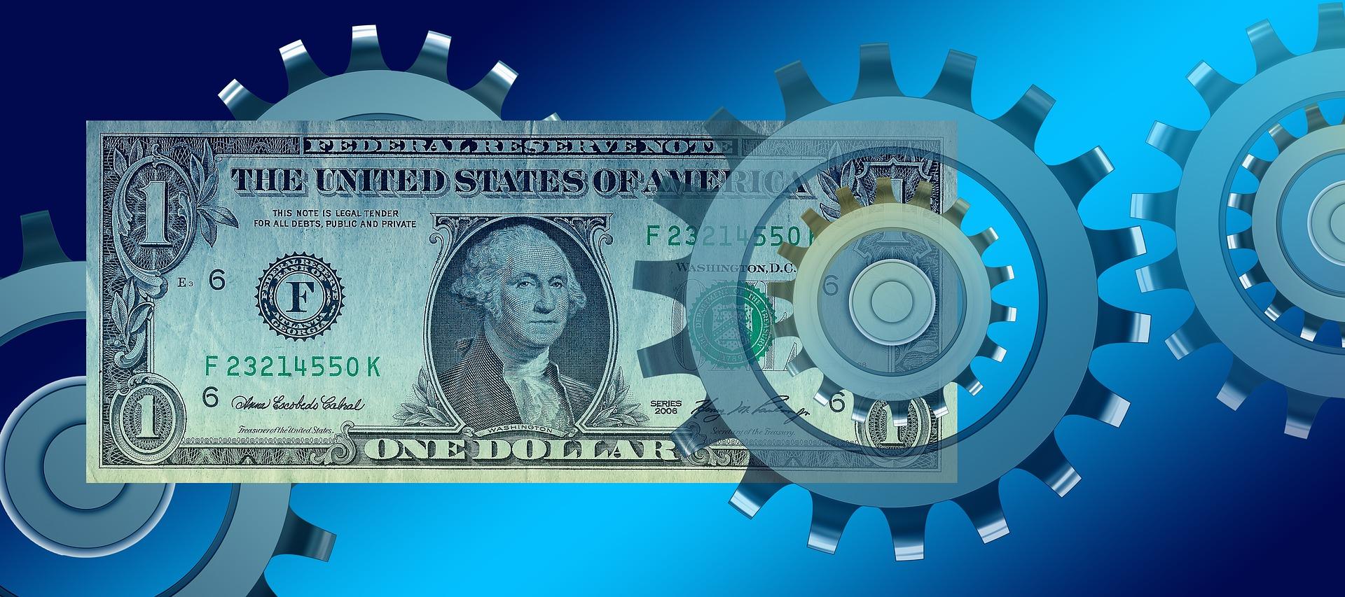 Geldschein Dollarnote